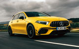 Mercedes-AMG A45 S 4Matic+ 2020 road test review - hero front