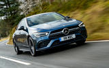Mercedes-AMG CLA35 2020 road test review - hero front