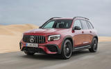 Mercedes-AMG GLB 35 2020 road test review - hero front