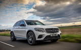 Mercedes-AMG GLC 43 road test review - hero front