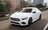 Mercedes-Benz A-Class saloon 2018 review - hero front