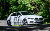 Mercedes-Benz A250e 2020 road test review - hero front
