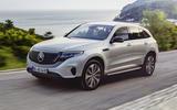 Mercedes-Benz ECQ 2019 review - hero front