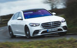1 mercedes s class s500 2020 lhd uk first drive review hero front