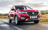 MG HS 2019 road test review - hero front