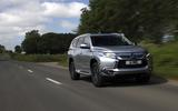 Mitsubishi Shogun Sport 2018 road test review hero front