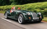 Morgan Plus Six 2019 road test review - hero front