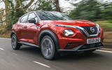 Nissan Juke 2020 road test review - hero front