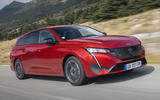 1 Peugeot 308 SW 2021 first drive hero front