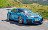 Porsche 911 GT2 RS 2018 road test review hero front