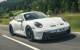 1 Porsche 911 GT3 2021 RT hero front