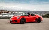 Porsche 911 Speedster 2019 review - hero front