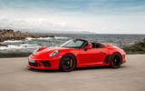 Porsche 911 Speedster 2019 review - hero front