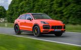 Porsche Cayenne Coupé 2019 review - hero front