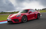 Porsche 718 Cayman GT4 2019 road test review - hero front