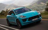 Porsche Macan Turbo 2019 road test review - hero front