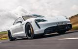 Porsche Taycan 2020 road test review - hero front