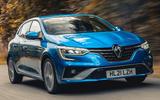 1 Renault Megane E Tech PHEV road test 2021 hero front