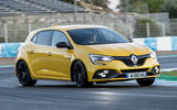Renault Megane RS 280 2018 road test review hero front
