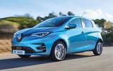 Renault Zoe 2020 road test review - hero front