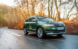 Skoda Karoq Scout 2019 road test review - hero front