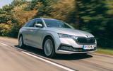 Skoda Octavia Estate 2020 road test review - hero front