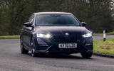 1 Skoda Octavia vRS TDI 2021 road test review hero front