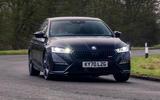 1 Skoda Octavia vRS TDI 2021 road test review hero front