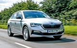 Skoda Scala 2019 road test review - hero front