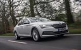Skoda Superb iV 2020 road test review - hero front