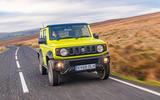 Suzuki Jimny 2018 road test review - hero front