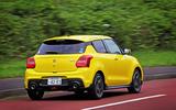 Suzuji Swift Sport Japan-spec review rear