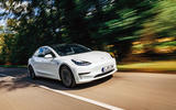 Tesla Model 3 road test hero front