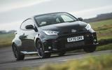 1 Toyota GR Yaris 2021 UK road test review hero front