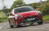 1 Toyota Mirai 2021 RT hero front