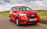 Vauxhall Combo Life 2018 road test review - hero front