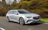 Vauxhall Insignia Sports Tourer GSI 2018 review hero front