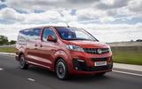 Vauxhall Vivaro Life 2019 road test review - hero front