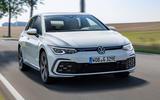 Volkswagen Golf GTE 2020 road test review - hero front