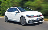 Volkswagen Polo GTI 2018 road test review hero front