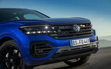 Volkswagen Touareg R road test review - nose