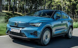 1 Volvo C40 Recharge 2021 first drive review hero front