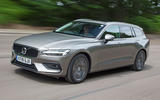 Volvo V60 2018 road test review hero front