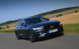 Volvo V90 T6 Recharge PHEV 2020 road test review - hero front