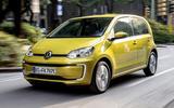 Volkswagen e-Up 2020 road test review - hero front