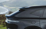 Aston Martin DBX 2020 road test review - rear end