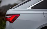 Audi A6 Avant 2018 road test review - rear quarter