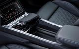 Audi E-tron Sportback 2020 road test review - centre console