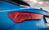Audi RS Q3 Sportback 2020 road test review - rear lights
