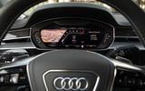 Audi S8 2020 road test review - virtual cockpit